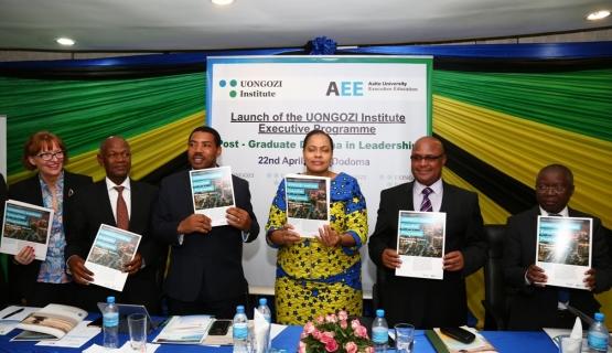 Aalto EE:n ensimmäinen projekti Afrikan mantereella UONGOZI-instituutin kanssa.